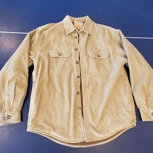 Vtg Arrow Workwear Fleece Lined Corduroy Jacket M